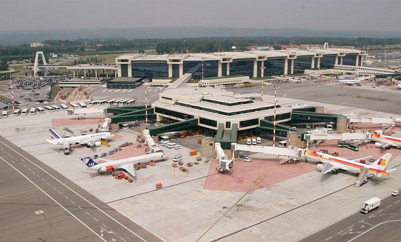 Aeropuerto fiumicino de roma