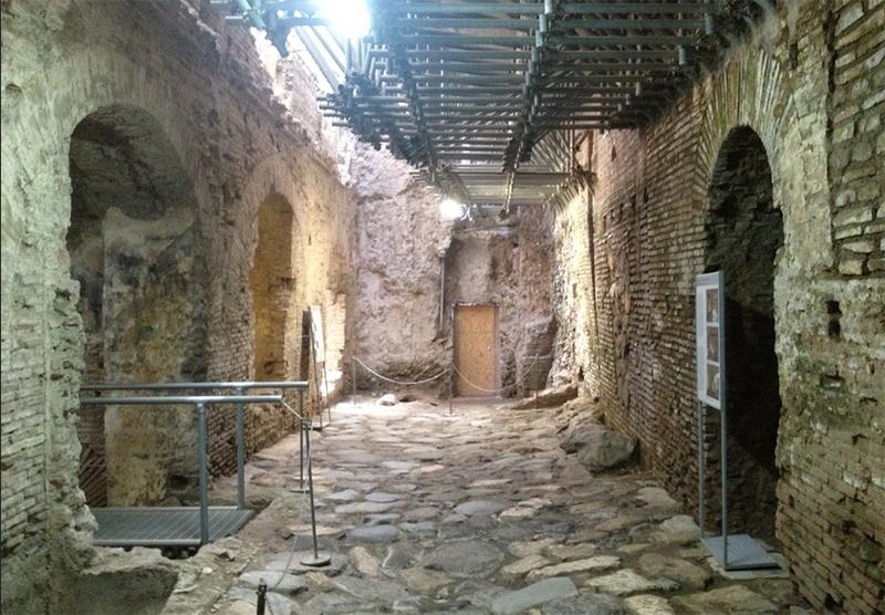 Museo Cripta Balbi de Roma