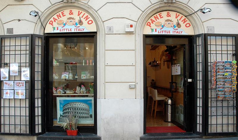 Paninis en Roma