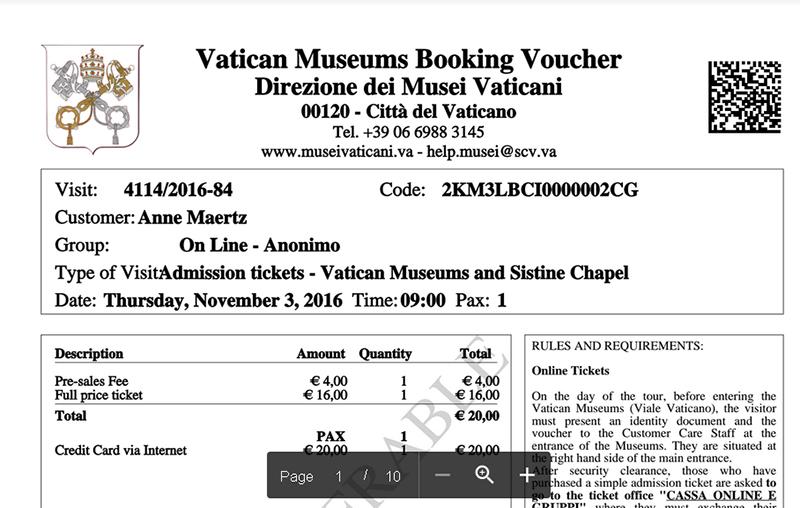 Comprar entradas a los Museos Vaticanos - Como evitar las filas