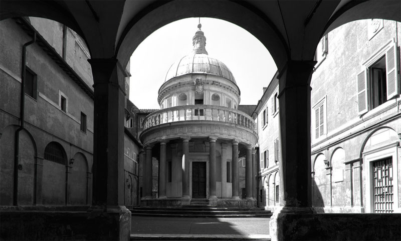 Temple in San Pietro in Montorio