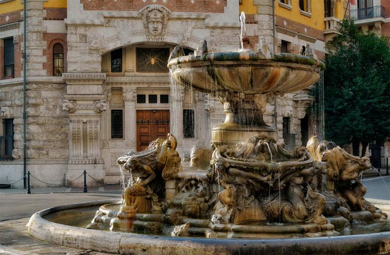 Plaza Mincio de Roma